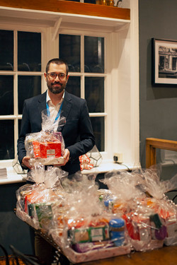 Dan the director or Age UK with gift