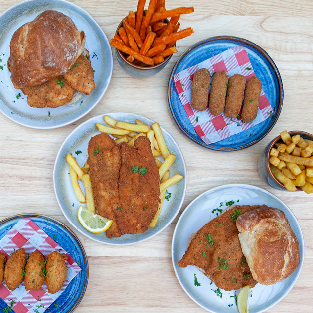 Slection of dishes from Portuguese takeaway Go Bifanas takeaway in Norwich.jpg