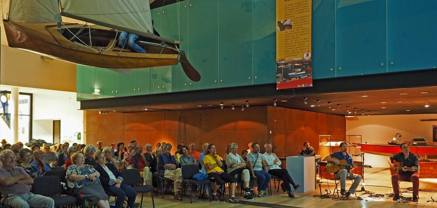 Ciné-concert Musée Maritime