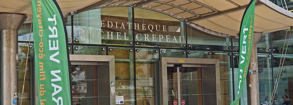 Médiathèque Michel-Crépeau