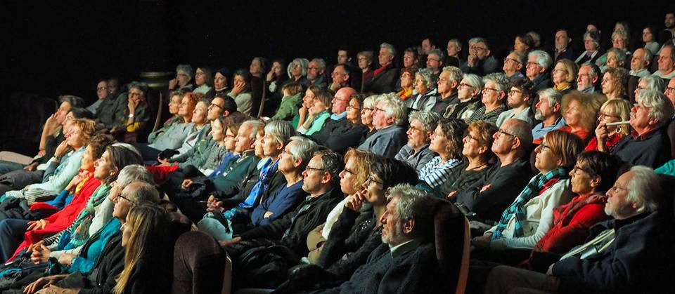 Projection Hubert Reeves Olympia