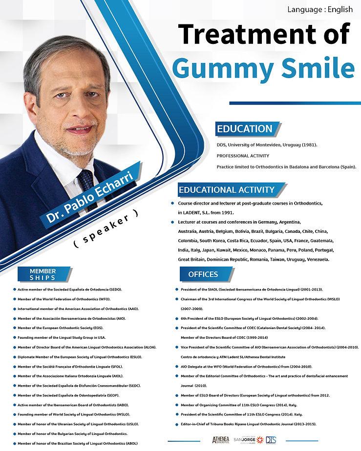 Treatment of gummy smile ประวัติหมอ Pabl