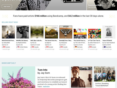 Slavaki - Daydreaming album featured in Bandcamp Daily!