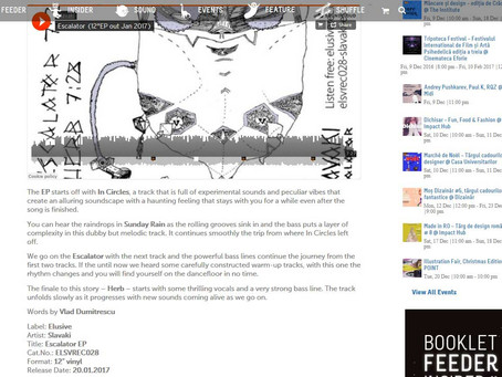 Escalator EP review in Feeder.ro