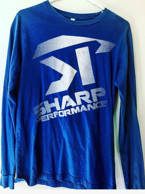 SP Long Sleeve Royal Blue/White