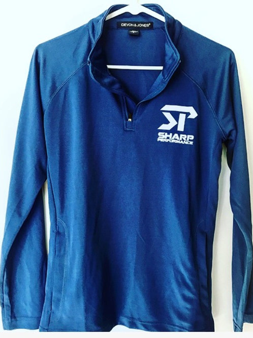 SP Long Sleeve Collared Royal Blue