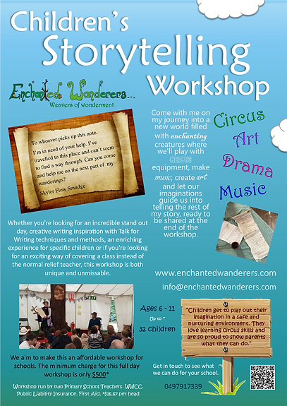 Enchanted Wanderers Storytelling Worksho