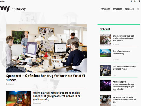 We're featured on TechSavvy.Media