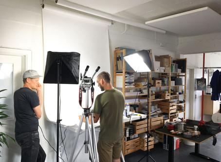 We got our own, flexible photo studio