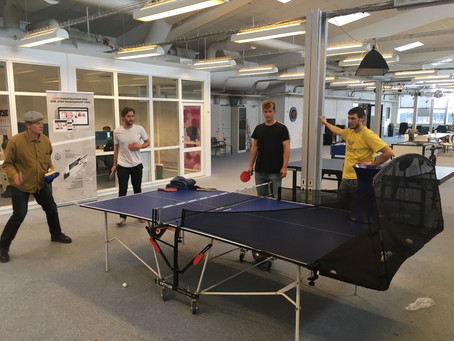 Meet our newest team-member: The ping-pong Robot!