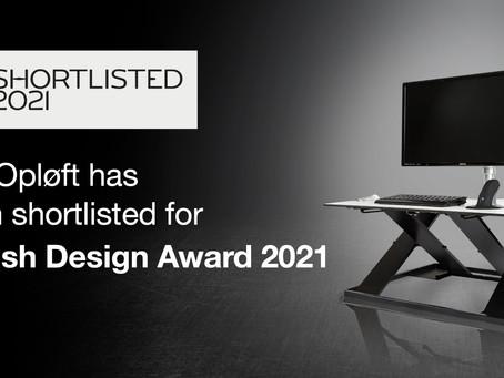 Opløft is shortlisted for a Danish Design Award