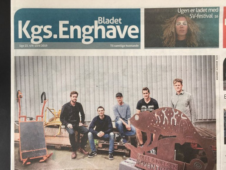 "A Visit From the Local Newspaper: ""The Future is Born on Bådehavnsgade"""