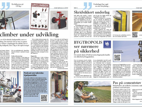 Upclimber featured in 'Under Hjelmene'