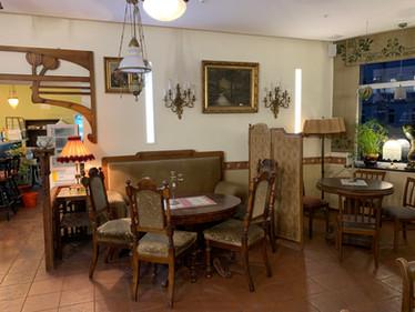 Gastraum Cafe Zeitreise 2