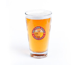 Glass of cool Retro Dog Beer