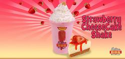 Strawberry Cheese Cake Shake