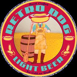 Retro Dog Light Beer