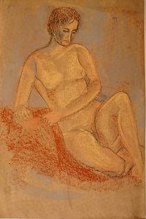 WH666 - Life Study Female Nude, c. 1962.