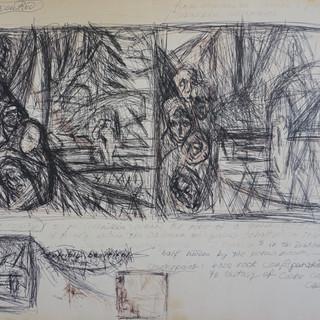 Painting Sketch (Lake Path)