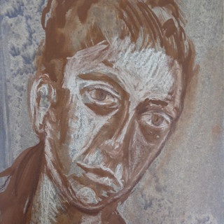 Portrait of the Artist's Mother (Monoprint)
