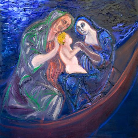 Anna Selbdritt (Lake Birth V)