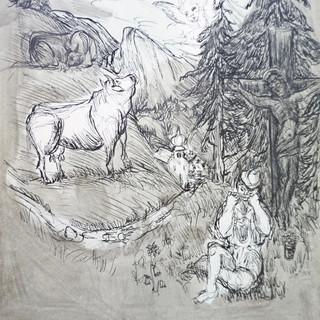 Apotheosis of The Cow
