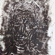 Etching of unknown man