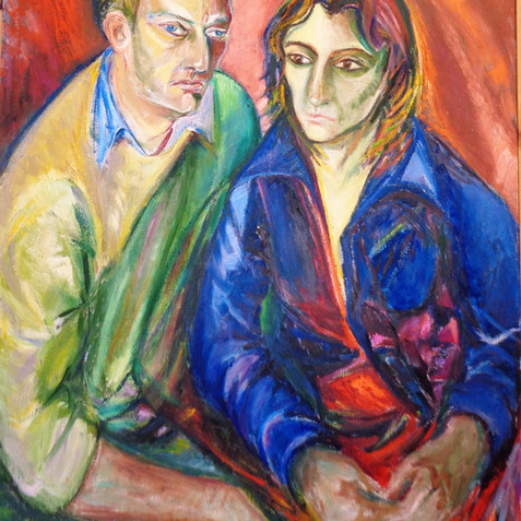 Double Portrait of Georg Spitzer & Julia Logothetis