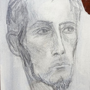 Sketch of a Young Man