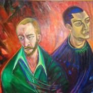 Double Portrait of Victor & Richard