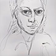 Portrait of Julia Logothetis II