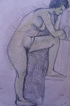 Life Study: Female Posed Nude