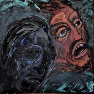 Storm at Galilee, Jesus Sleeping