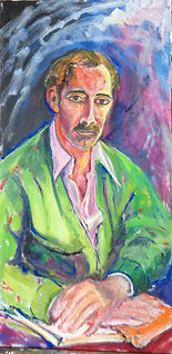 WH128 - Portrait of an Unknown Man (AIDS