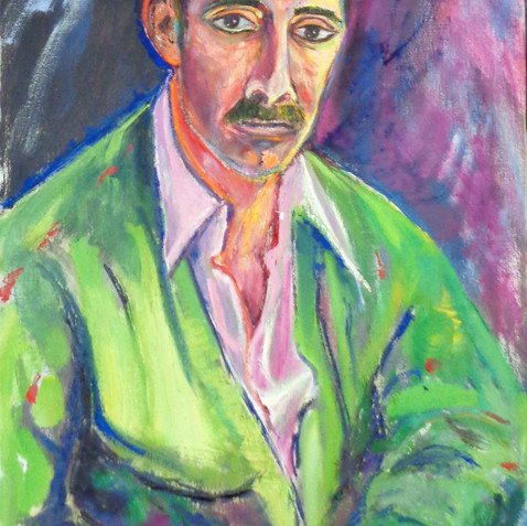 Portrait of an Unknown Man (AIDS lawyer)
