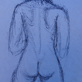 Life Study: Female Posed Nude