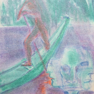 Charon the Boatman in Altaussee
