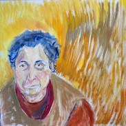 Portrait of the Sculptor Hana Geber