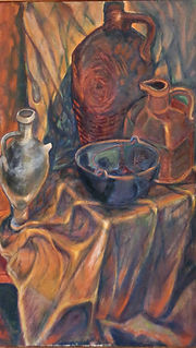 WH019 - Still Life with Jugs, early 1960