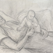 Artist's Daughter and Grandmother