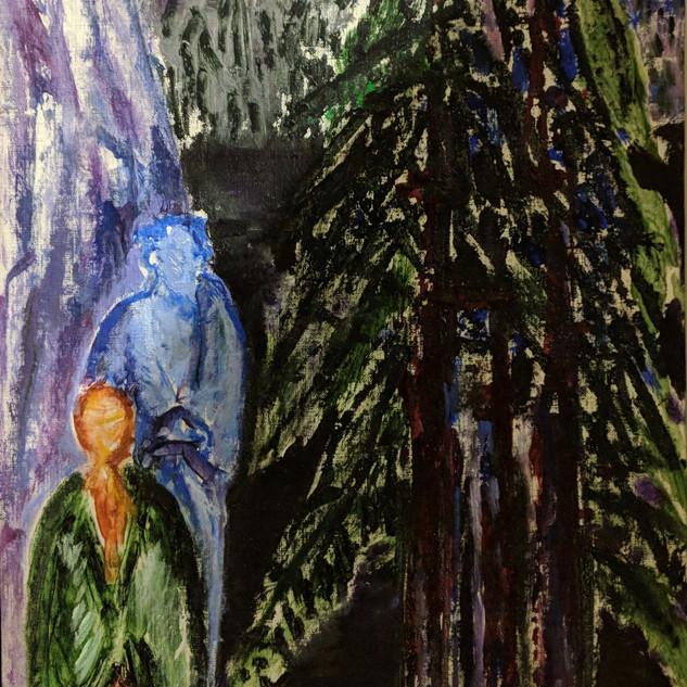 Evergreens, Lake Path Altaussee
