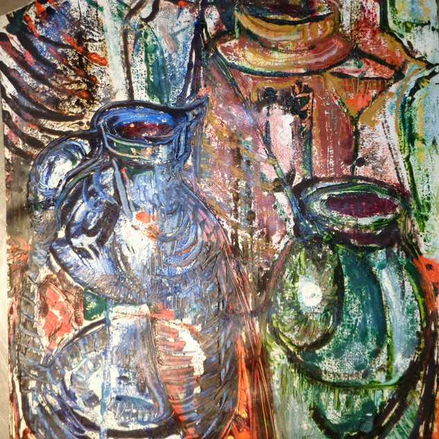Still Life - Jugs & Bottles II
