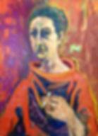 WH261 - Self Portrait, c. 1980.JPG