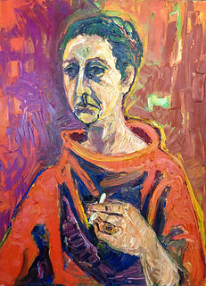 WH261 - Self Portrait, c. 1980.JPG