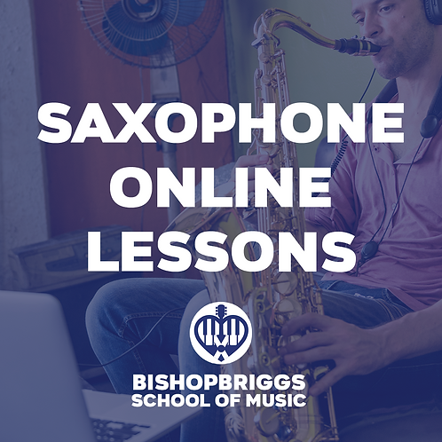 SPECIAL OFFER Saxophone Online Voucher (4 Week Block)