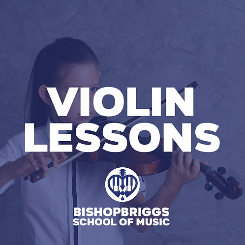 VIOLIN LESSONS (4 WEEK BLOCK)