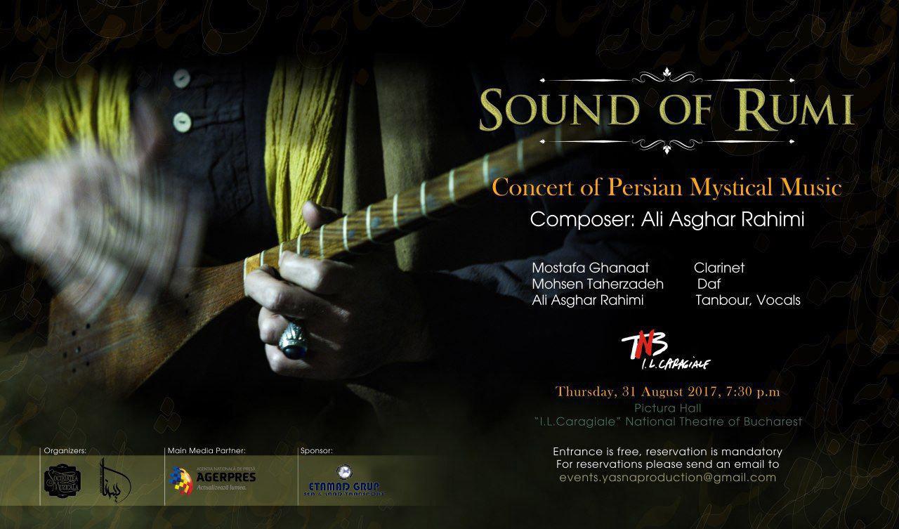 """""""Sound of Rumi"""" Concert Tour"""
