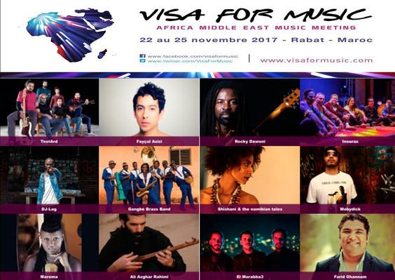 Visa for Music Festival