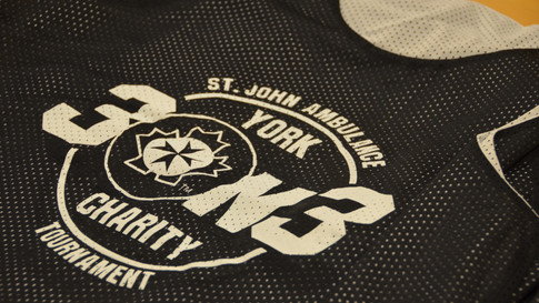 3x3 Basketball Event Jersey | St. John Ambulance York Region