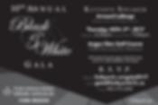 2017 10thAnnual Black & White Charity Gala Event SOCIAL MEDIA AD by St. John Ambulance, YORK REGION